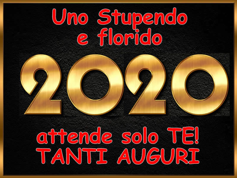 Foto Buon Anno 2020