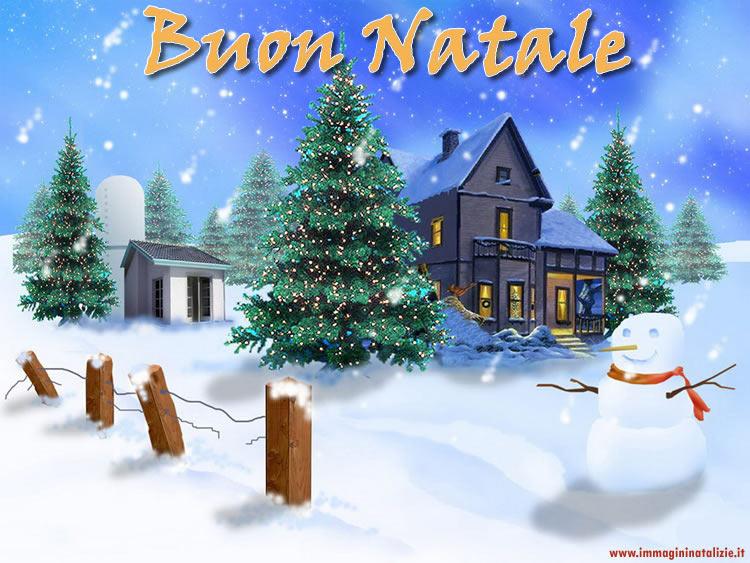 Foto di Natale paesaggio