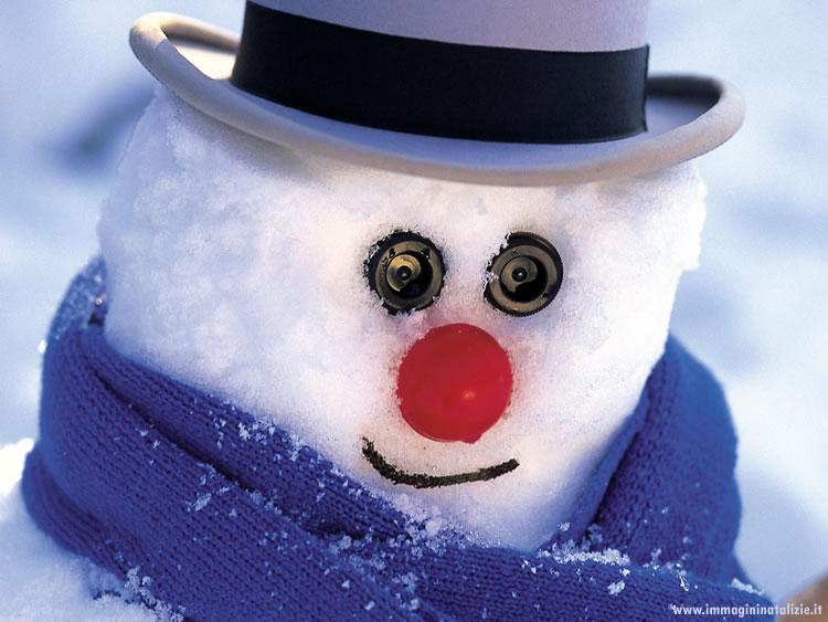 Foto Natale Pupazzo di neve