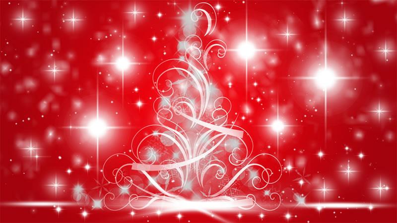 Immagine di natale immagine albero di natale con regali - Immagini a colori di natale gratis ...