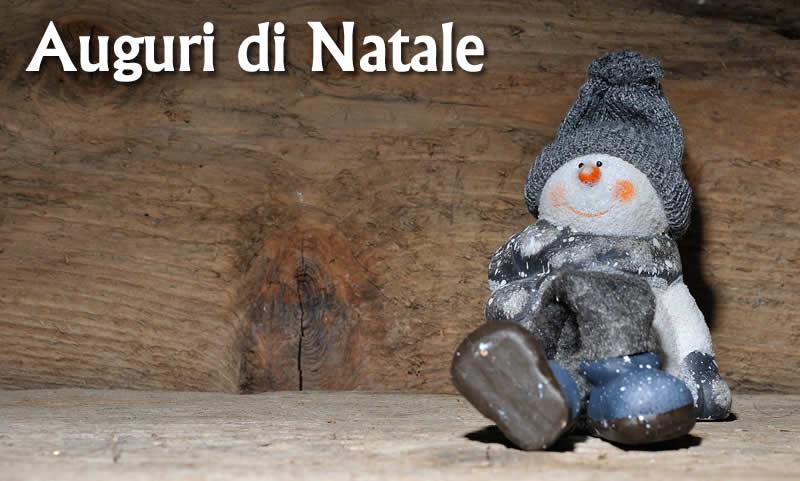 Immagini natalizie auguri di Natale Pupazzo di neve