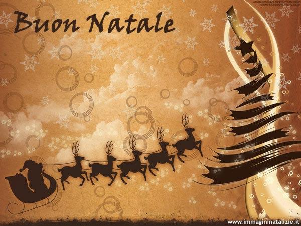 Immagine Auguri Babbo Natale