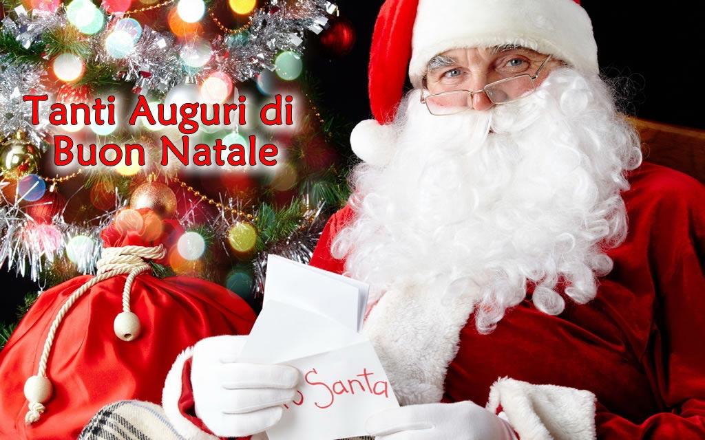 Babbo Natale con letterina