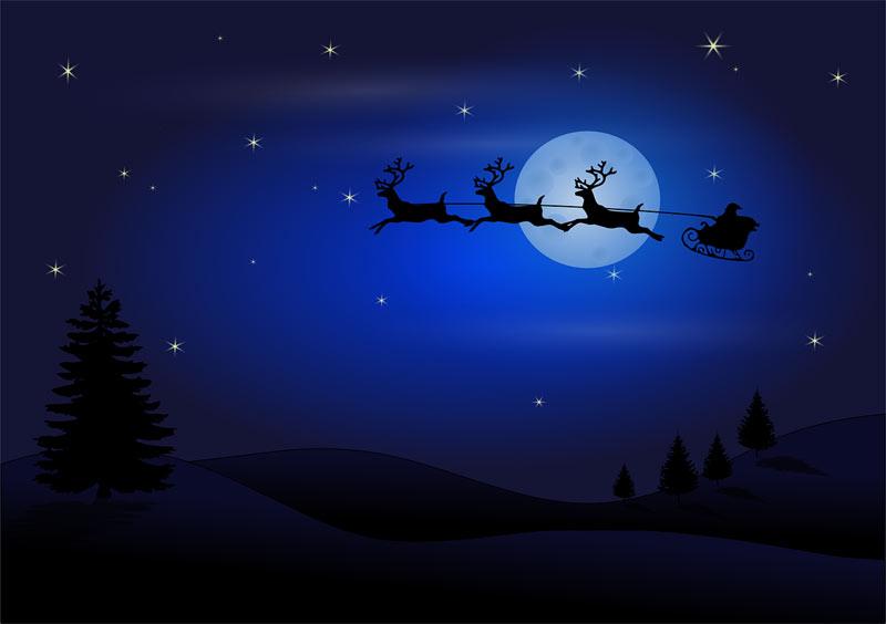 Immagini desktop Natalizie Babbo Natale