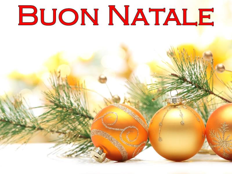 Immagini di Natale desktop con scritta Buon Natale