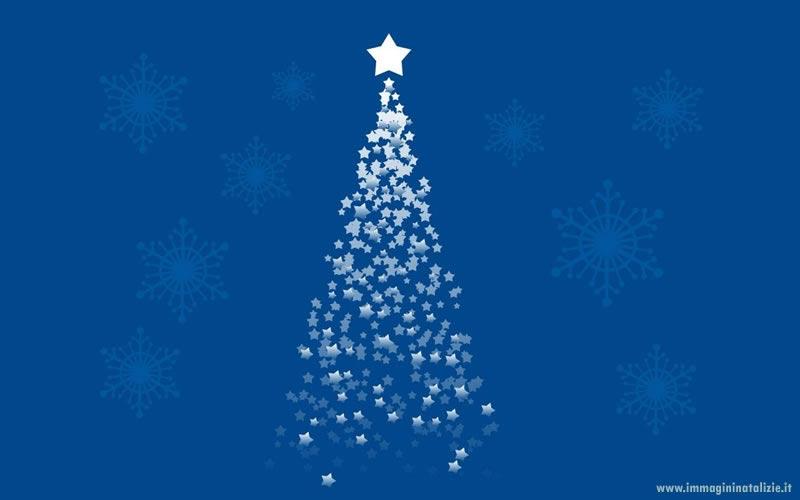 Albero di Natale stelline