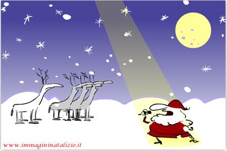 Babbo Natale che canta