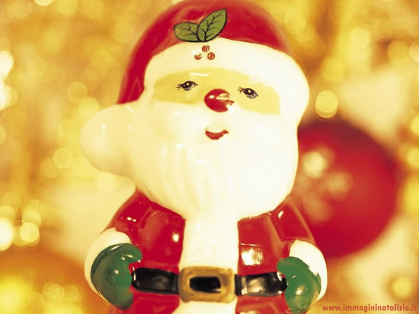 Babbo Natale pupazzo