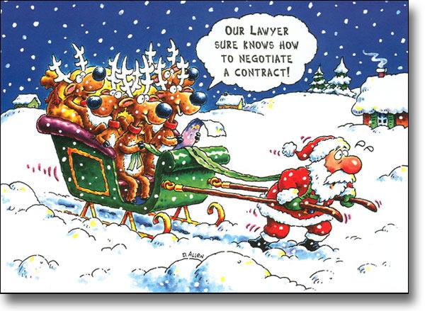 Babbo Natale divertente