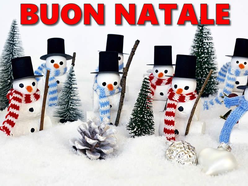 Pupazzi di Neve Buon Natale