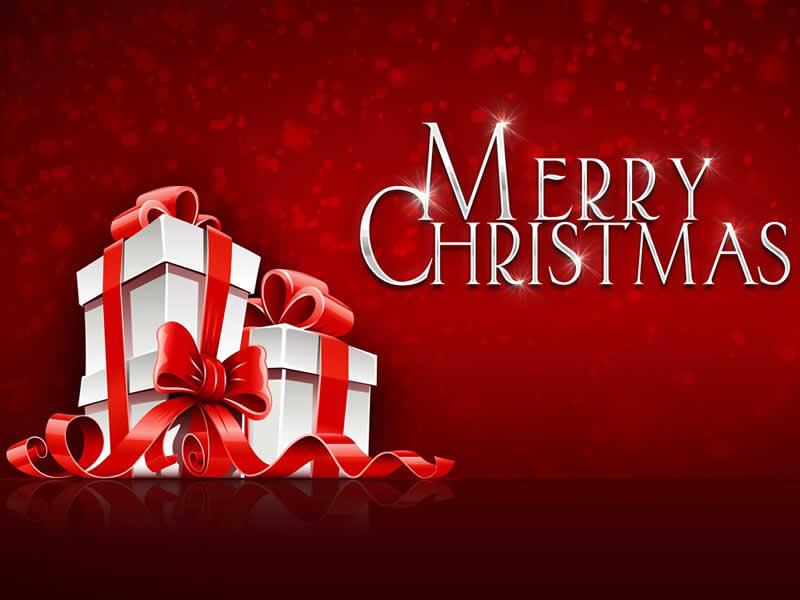 Sfondi natalizi con scritta Buon Natale